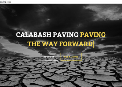 Calabash Paving Website