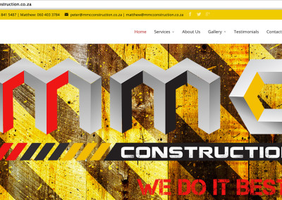 MMC Construction Website
