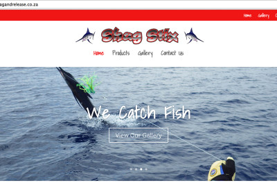 Shag Stix Website