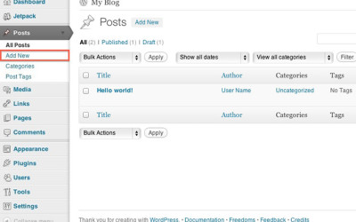 How To Add WordPress Posts