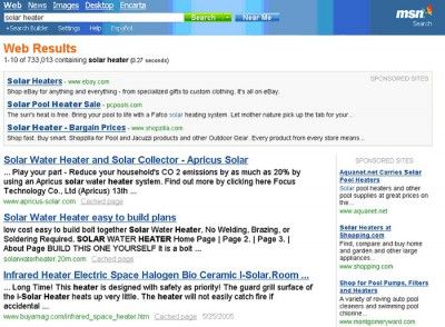 MSN Search Results