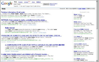 Poor Quality SERPS