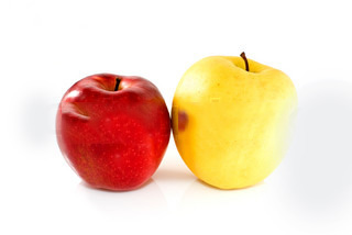 Red Apple Vs Yellow Apple